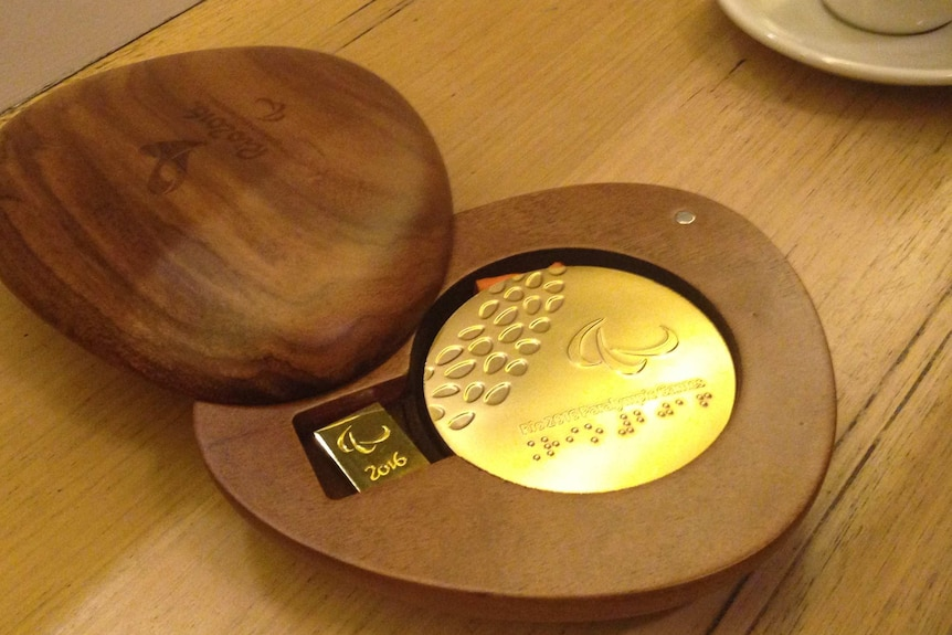 Stolen Paralympic gold medal