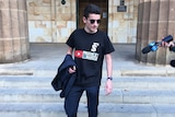 Marco Ocampo, 18, leaves the Adelaide Magistrates Court