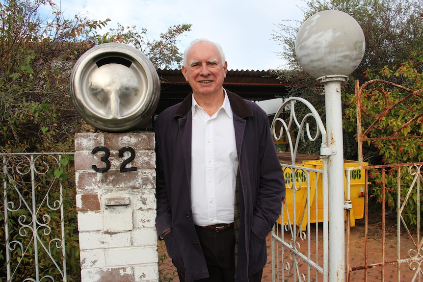 Nick whitlam at gough whitlam house