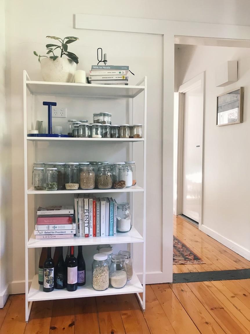 Meg Maggen's pantry in Adelaide.