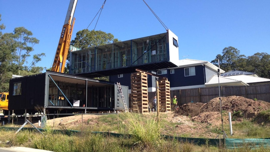 Shipping containers turned into family home in Oxley