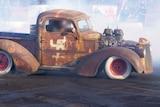 Car with swastika