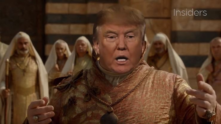 Donald Trump mashed into Game of Thrones