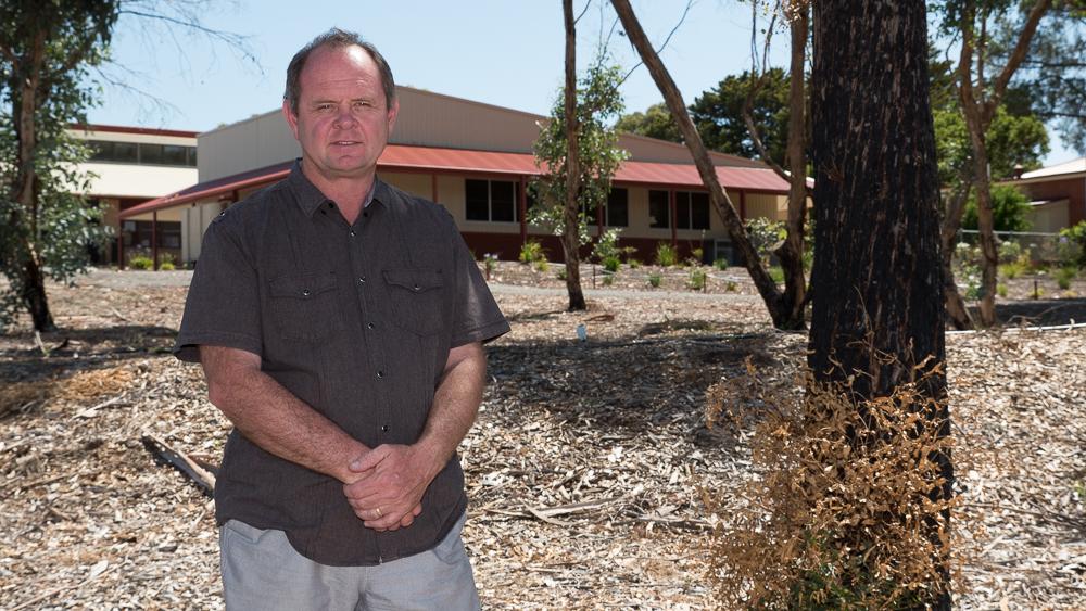 Kersbrook Primary School principal Mike Walsh.
