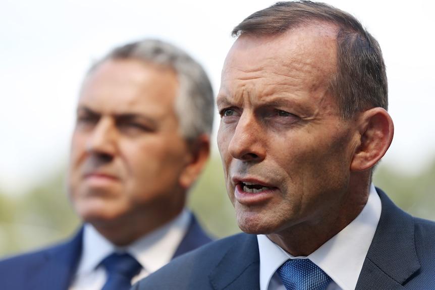 Prime Minister Tony Abbott and Treasurer Joe Hockey
