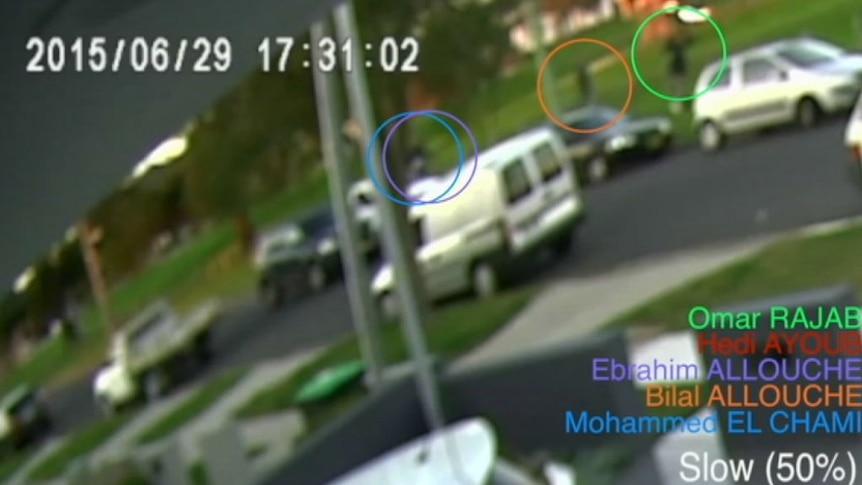 CCTV footage captured the shooting of Hedi Ayoub by Omar Rajab.