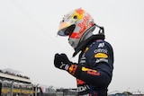 Max Verstappen on pole for French Grand Prix
