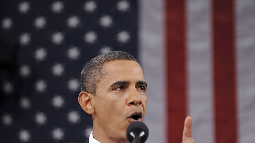 Experts say Mr Obama's speech was partly aimed at quelling public fears about high unemployment.