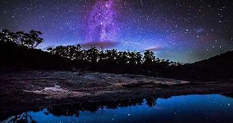 Milky Way over Girraween National Park