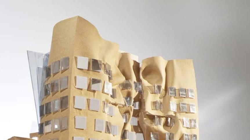 Frank Gehry's Dr Chau Chak Wing Building