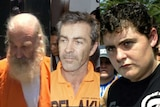 A composite picture of Robert Ellis, Edward Myatt and Renae Lawrence.