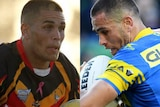 Will Smith playing for the Newcastle All Blacks and Parramatta Eels