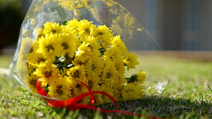 DV victim flowers