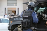A joint counter-terror raid operation in Sydney's west