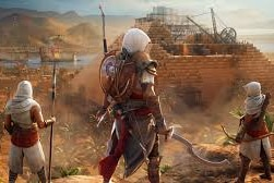 A scene from Assassin's Creed Origins.