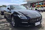 A luxury Maserati