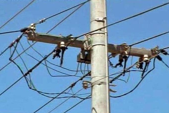 Foolhardy: Aurora says tampering with live wires is a safety hazard for the thieves and customers.
