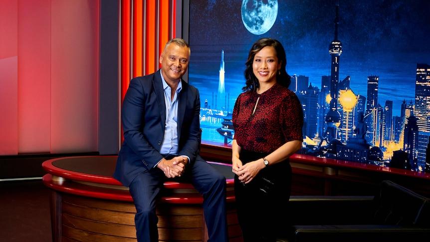 ABC China Tonight Stan Grant, Yvonne Yong