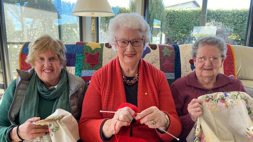 These Deloraine women are hopeful the Deloraine show will go ahead for 2021.