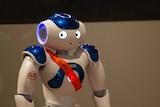 Aggie the AGWA (Art Gallery of WA) robot