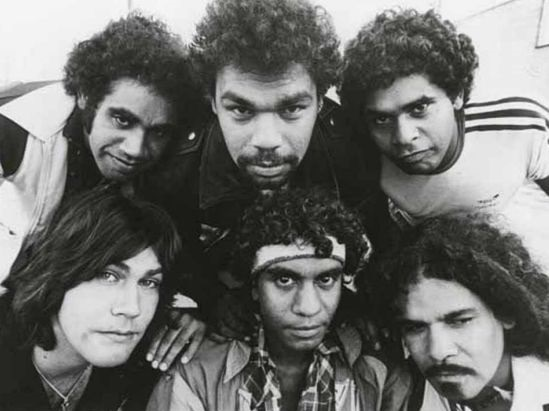 Six band members