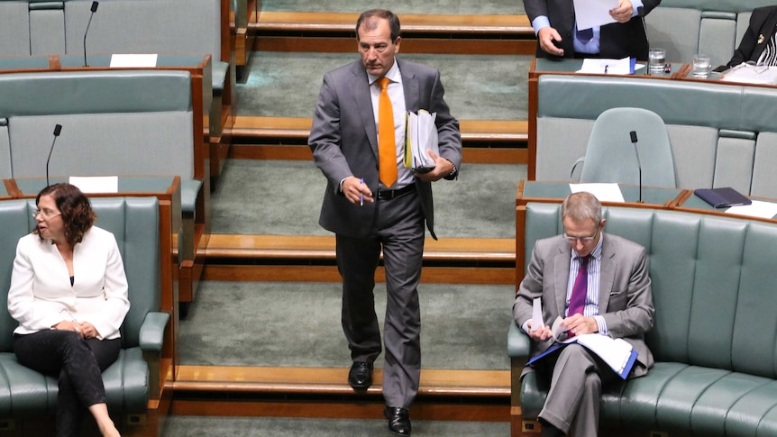 Mal Brough in Parliament House