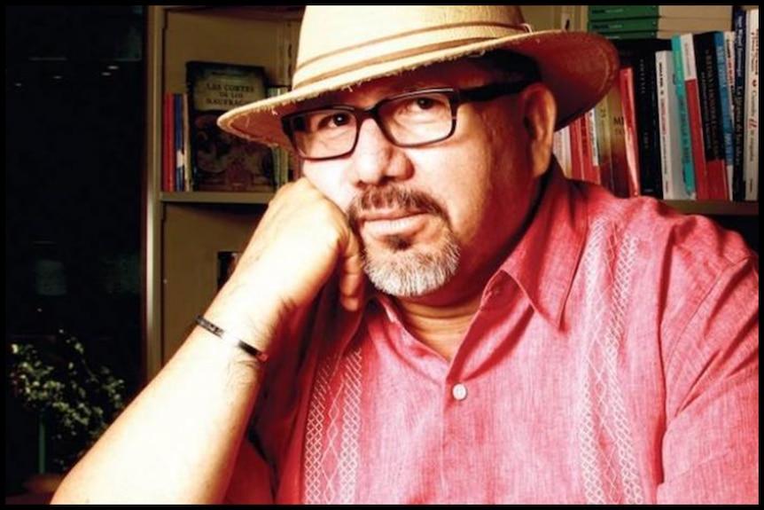 A portrait of Javider Valdez.