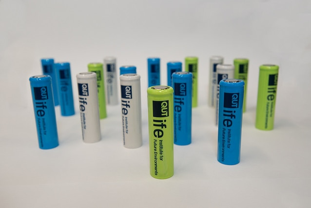 Queensland University of Technology has created Australia's first home-made lithium ion batteries