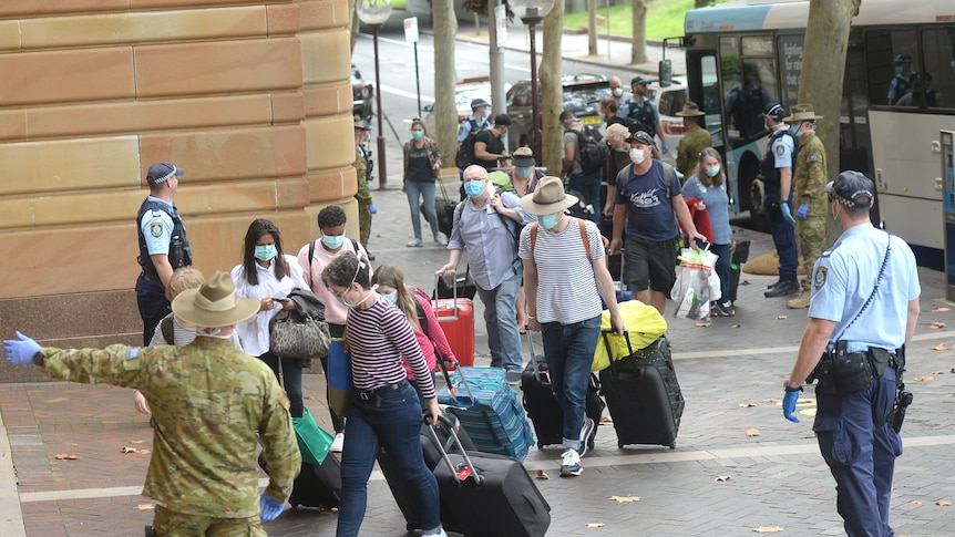 COVID-19 cases from India in Sydney hotel quarantine lower than those from US NSW Health data shows – ABC News