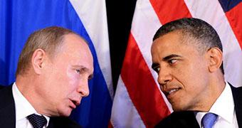 340x180 composite image of Barack Obama and Vladimir Putin