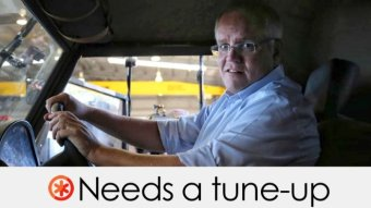 Scott Morrison's claim needs a tune up.