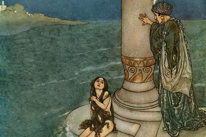 The original Little Mermaid is much more gruesome.