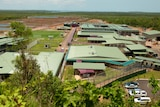 Part of the Wickham Point immigration detention facility, about 50km from Darwin