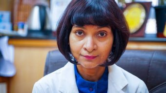 Indian neurologist MV Padma Srivastava