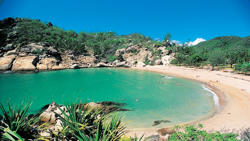A generic shot of Magnetic Island beaches.