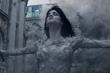 A scene from the 2017 film The Mummy.