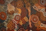An indigenous art work from the Waltja exhibition.