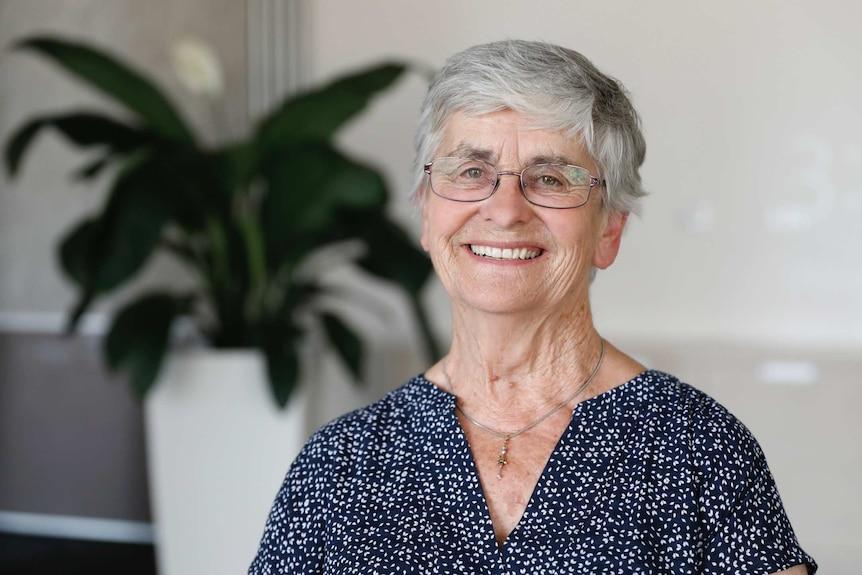 Older woman, a descendant of original Canberra family.