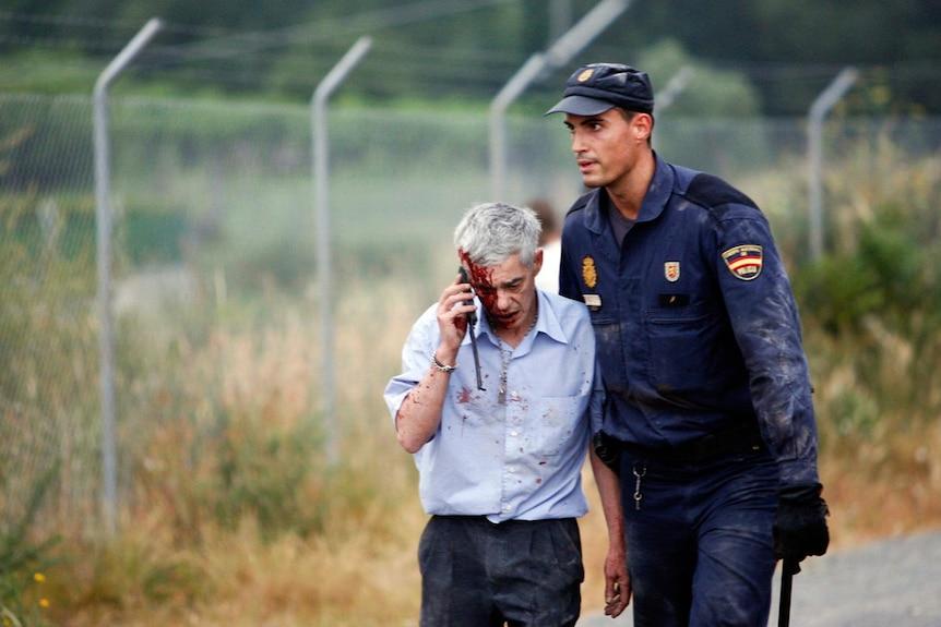 Spanish train driver Francisco Jose Garzon Amo, July 27 2013