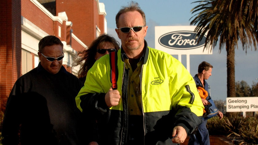 Ford jobs loss in Geelong
