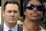 A jury acquitted Senior Sergeant Hurley (left) of Mr Doomadgee's (right) manslaughter.
