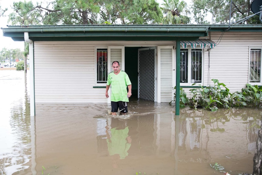 Flooding in Beenleigh