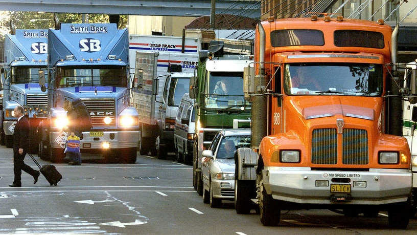 The Victorian Transport Association says there is a shortage of truck drivers across the board in the industry  [File photo].