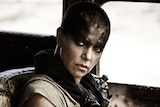 Actress Charlize Theron as Furiosa in Mad Max: Fury Road