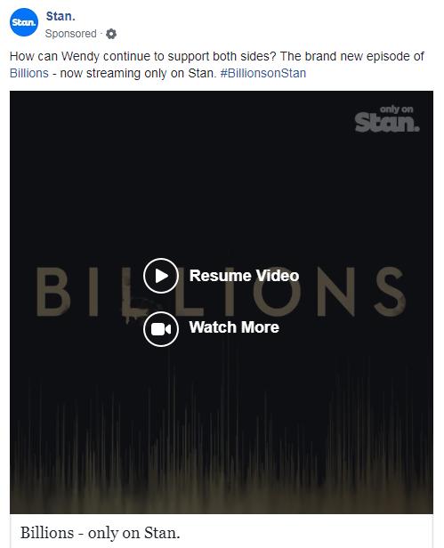A Facebook video post.