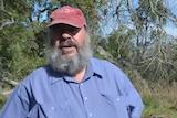 Gunditjmara elder Denis Rose at Budj Bim