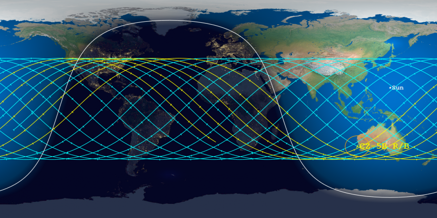 Today's Aerospace map May 6