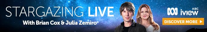 Stargazing live banner