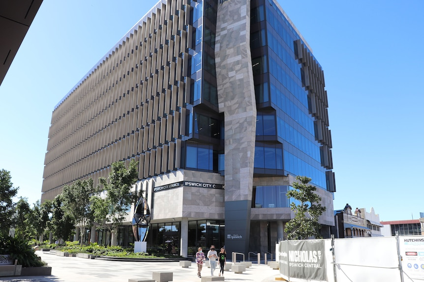 The new Ipswich City Council building