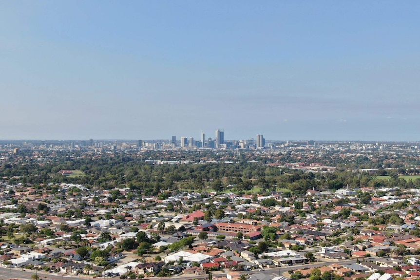 Much of the smoke from the Wooroloo bushfire which blanketed Perth on Tuesday has cleared.